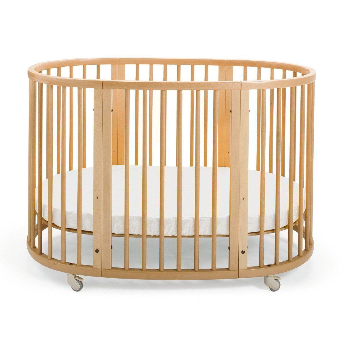 Amazon Com Stokke Sleepi Crib Natural Stokke Sleepi Crib Oval