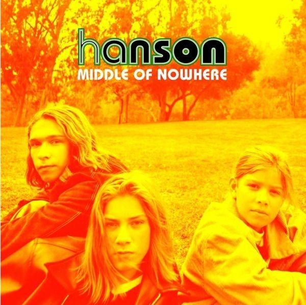 "Photo of Hanson, ""MMMBop"""