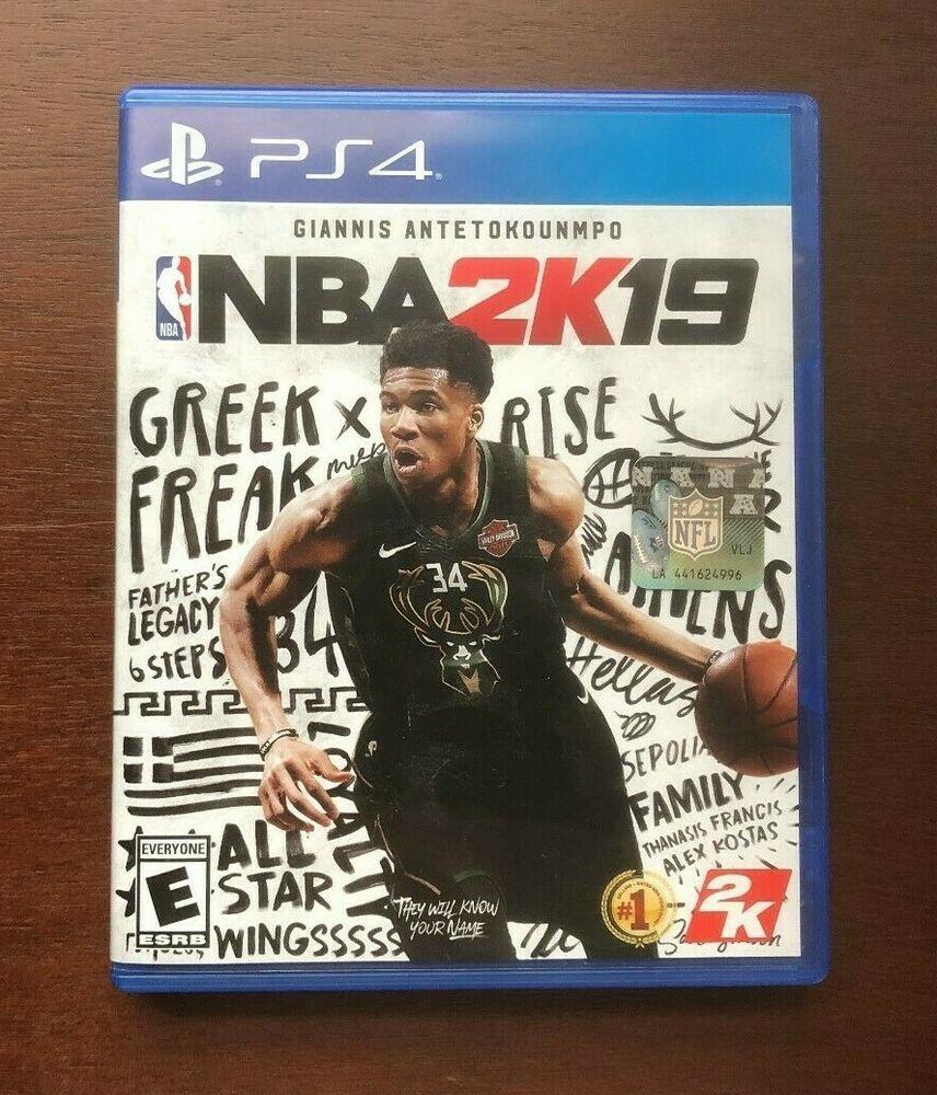 NBA 2K19 PlayStation 4, 2018 PS4 2K Video games ps4