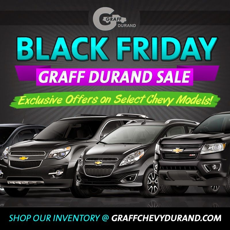 Black Friday Sale At Graff Chevrolet Durand Black Friday