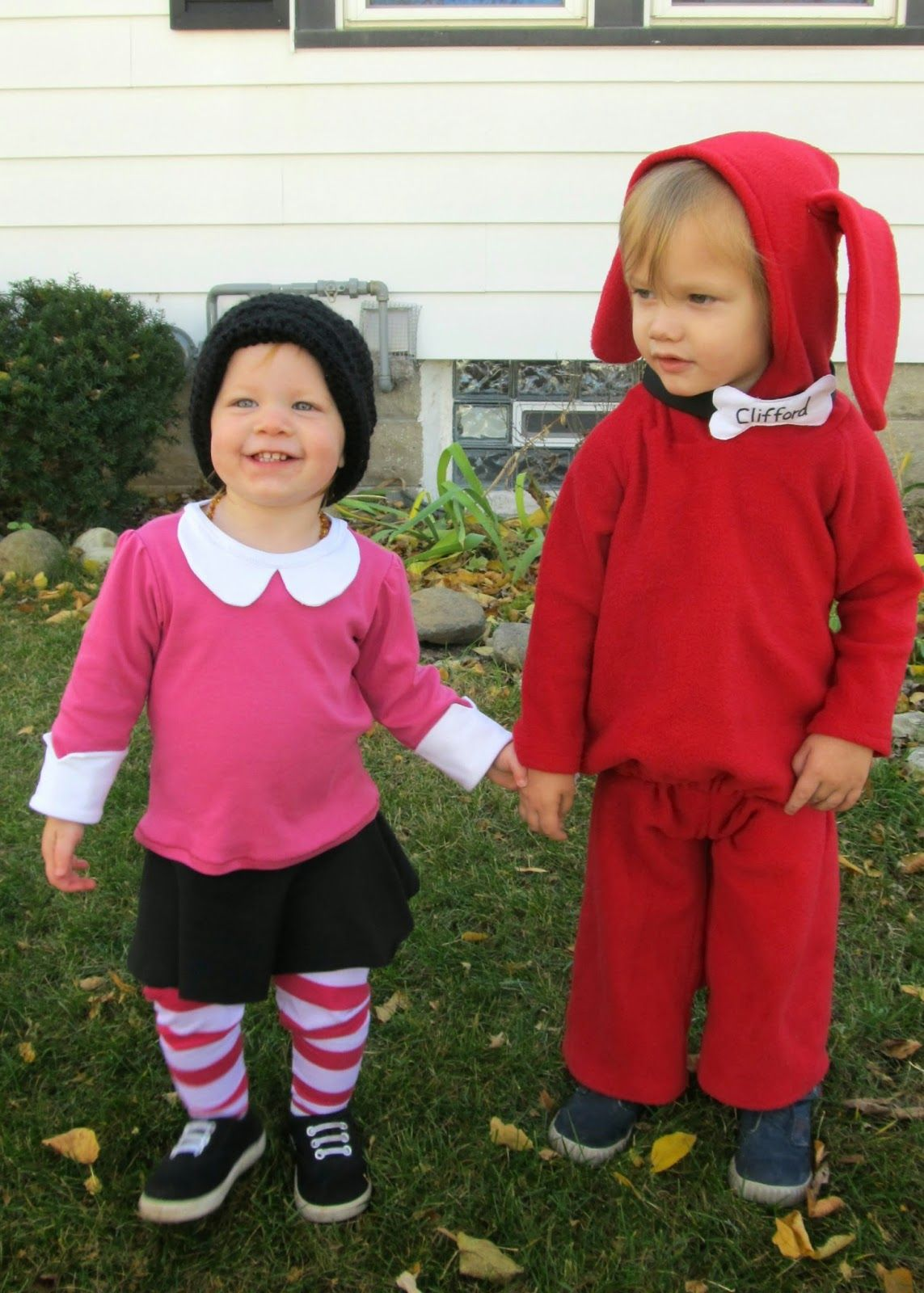 Snippets of My Family, Faith, and Crafting: Emily Elizabeth Costume... and Clifford
