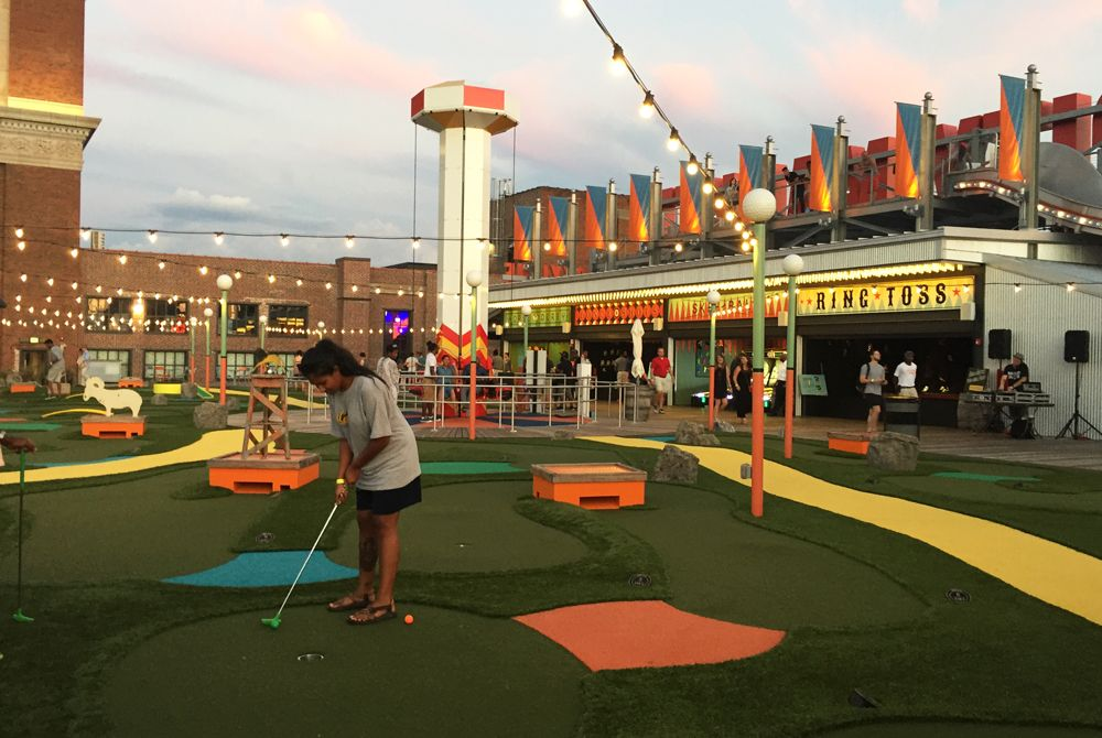 Image Result For Rooftop Minigolf Rooftop Mini Golf Ponce