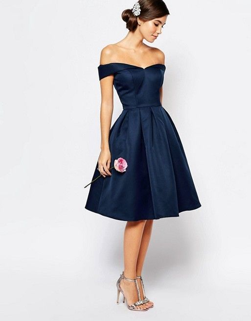 Navy Blue Homecoming Dress,Off the Shoulder Prom Dress,Short Prom ...