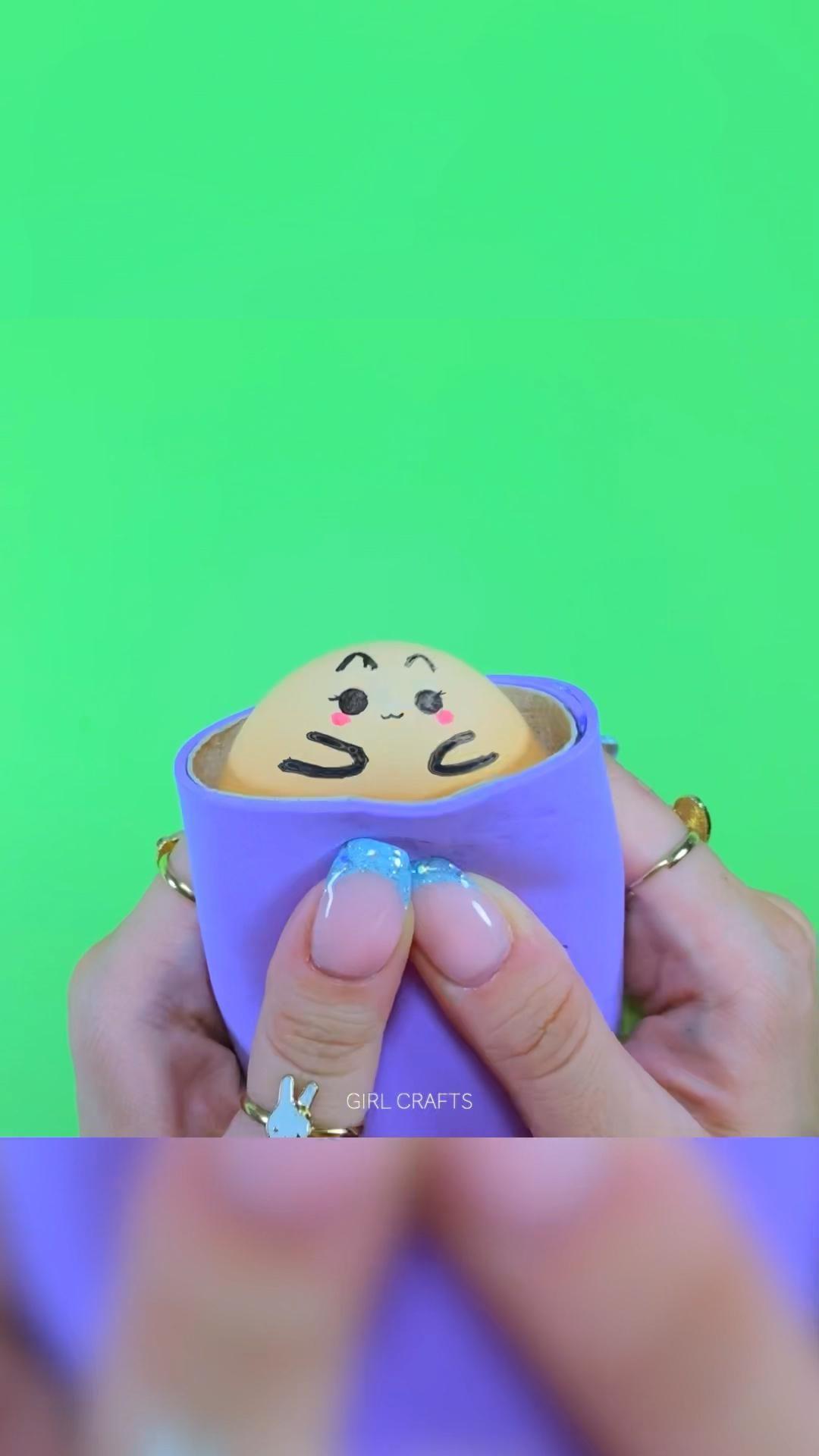 Diy Fidget Toys With Toilet Paper Rolls