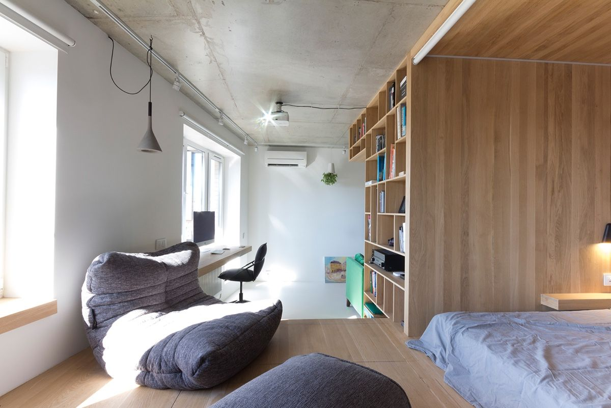 Innovation In Interior Design Often Results From Restrictions Impressive One Bedroom Apartment Designs Example Decorating Inspiration