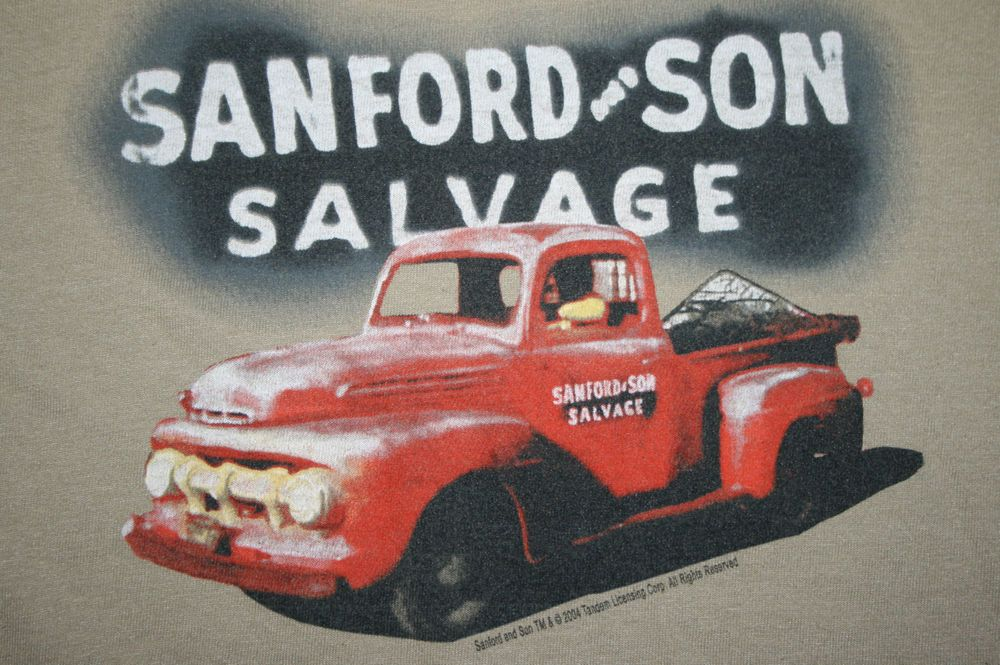 Vintage 2004 Sanford And Son Salvage Red Pickup Truck T Shirt