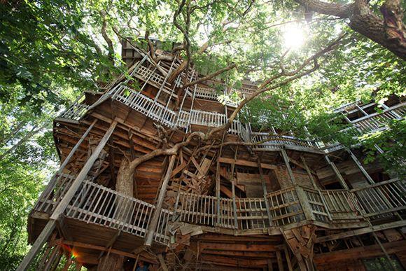 6x Inspirerende Boomhutten : De mooiste boomhutten hebbes wordt zimmo treehouses pinterest