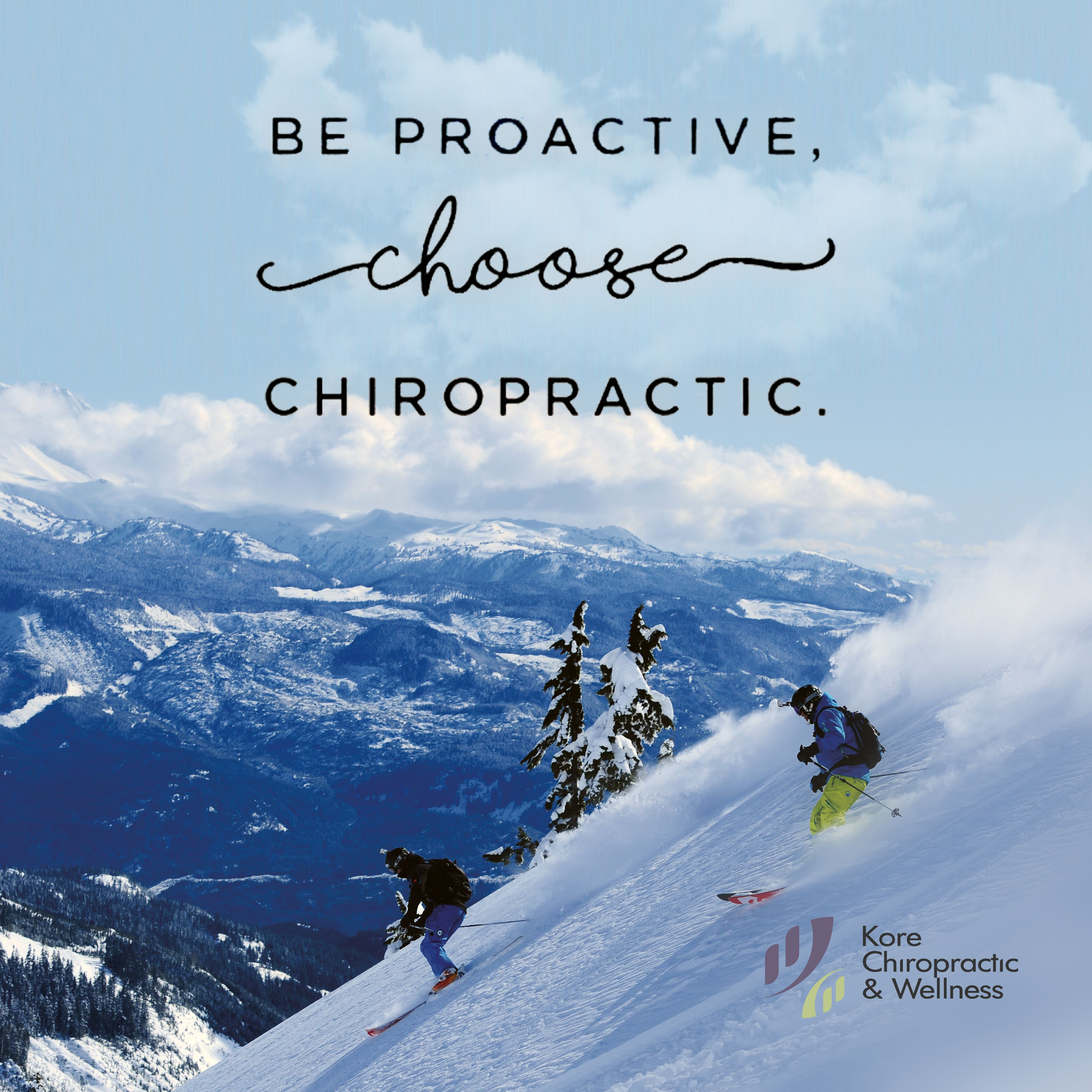 Be Proactive Choose Chiropractic Getadjusted Chiropractic Care Chiropractic Chiropractic Wellness