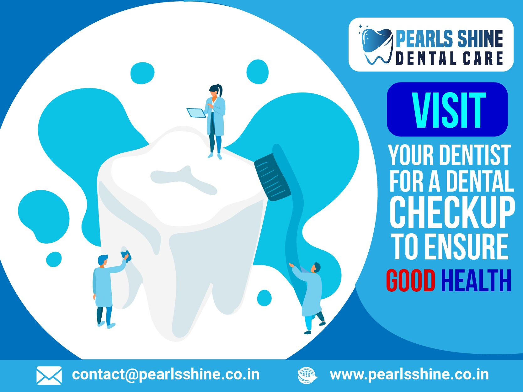 Your Dentist for a Dental Checkup to Ensure Good Health