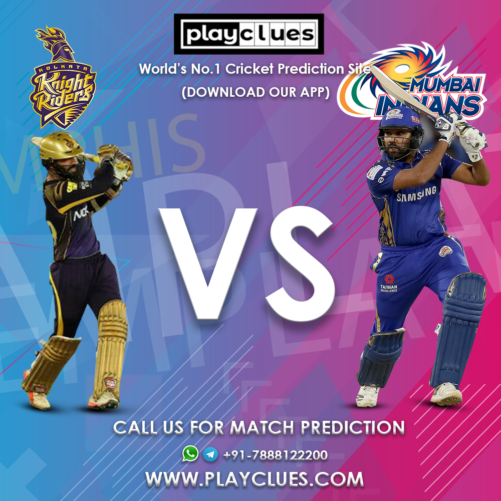 MI vs KKR 5th May Boost your IPL Prediction and Win the