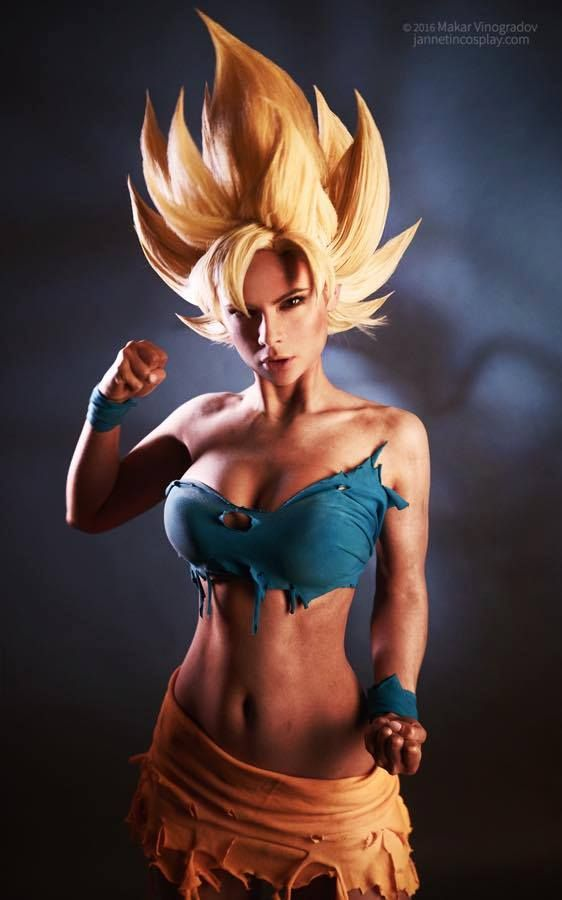 Image result for Female Goku cosplay