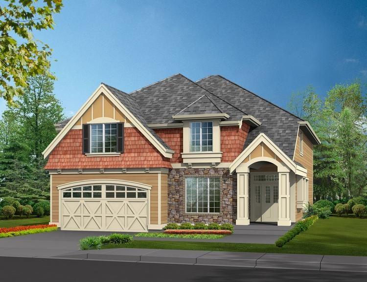 House Plan 34100087 Northwest Plan 2,960 Square Feet