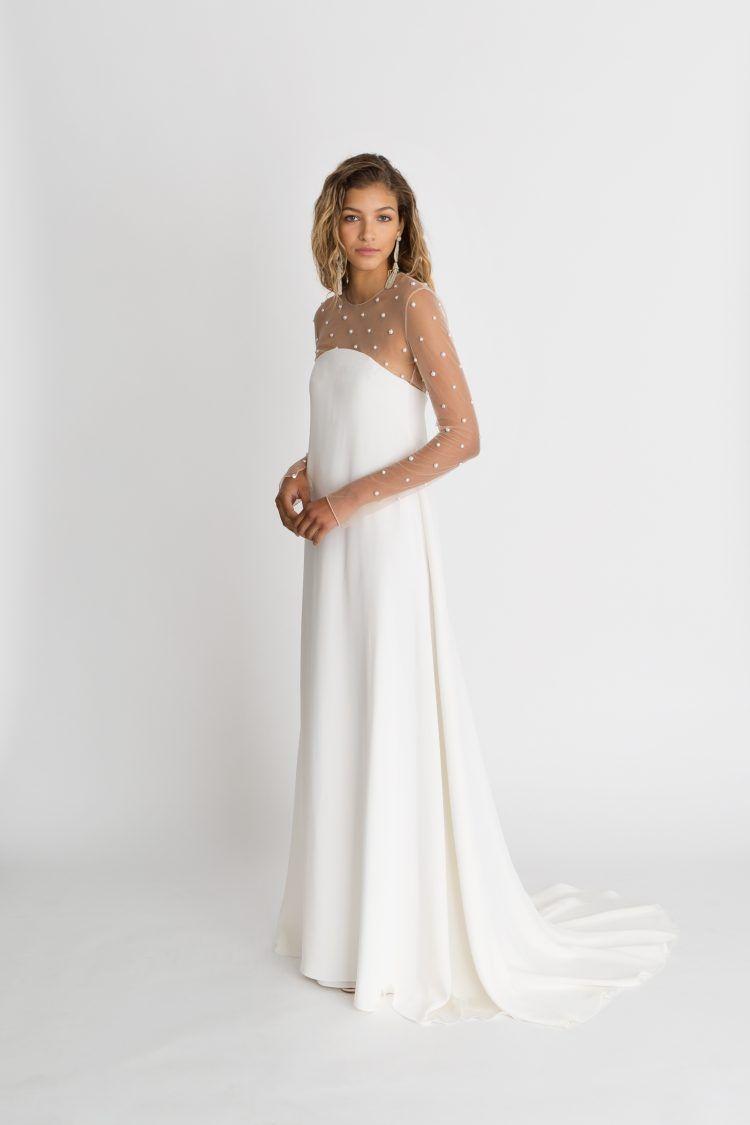 Classically modern wedding dress from alexandra grecco Платья