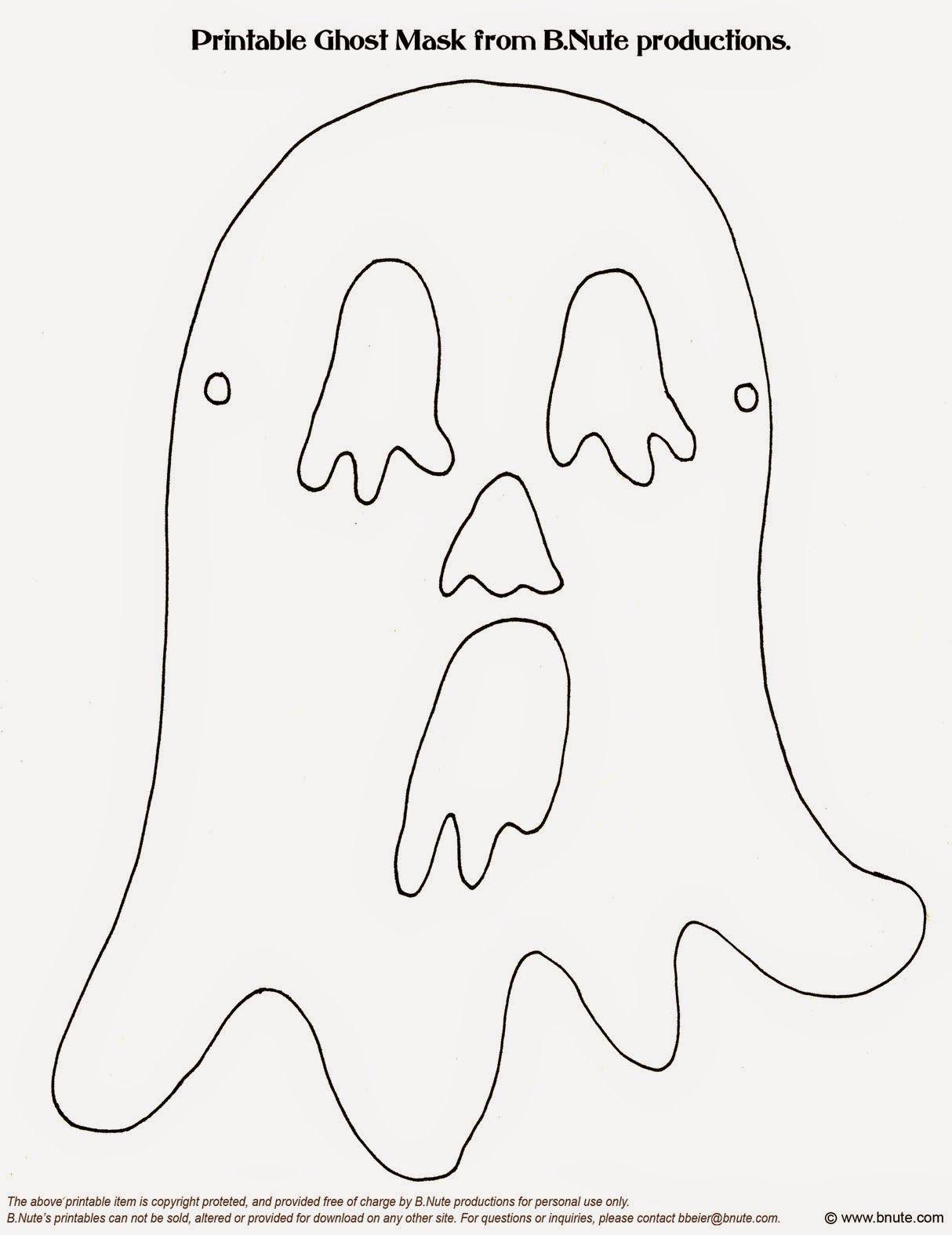 16 máscaras de dia das bruxas ou halloween para imprimir e brincar