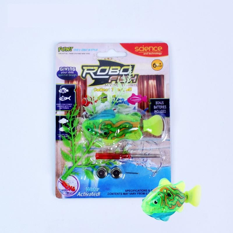 1pc Funny Fish Baby Bath Toys Battery Electronic Fish Toys With ...