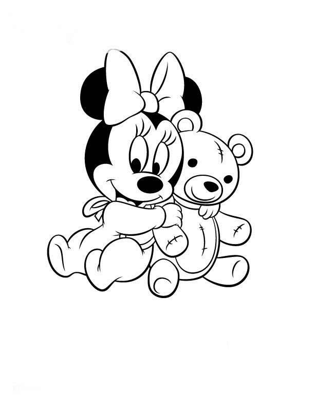 mickey baby - Pesquisa Google | figuras | Pinterest | Bebé, Pinturas ...