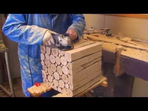 DIY: Gör ett soffbord av tjocka grenar – instruktioner i steg för steg | Hemmafix