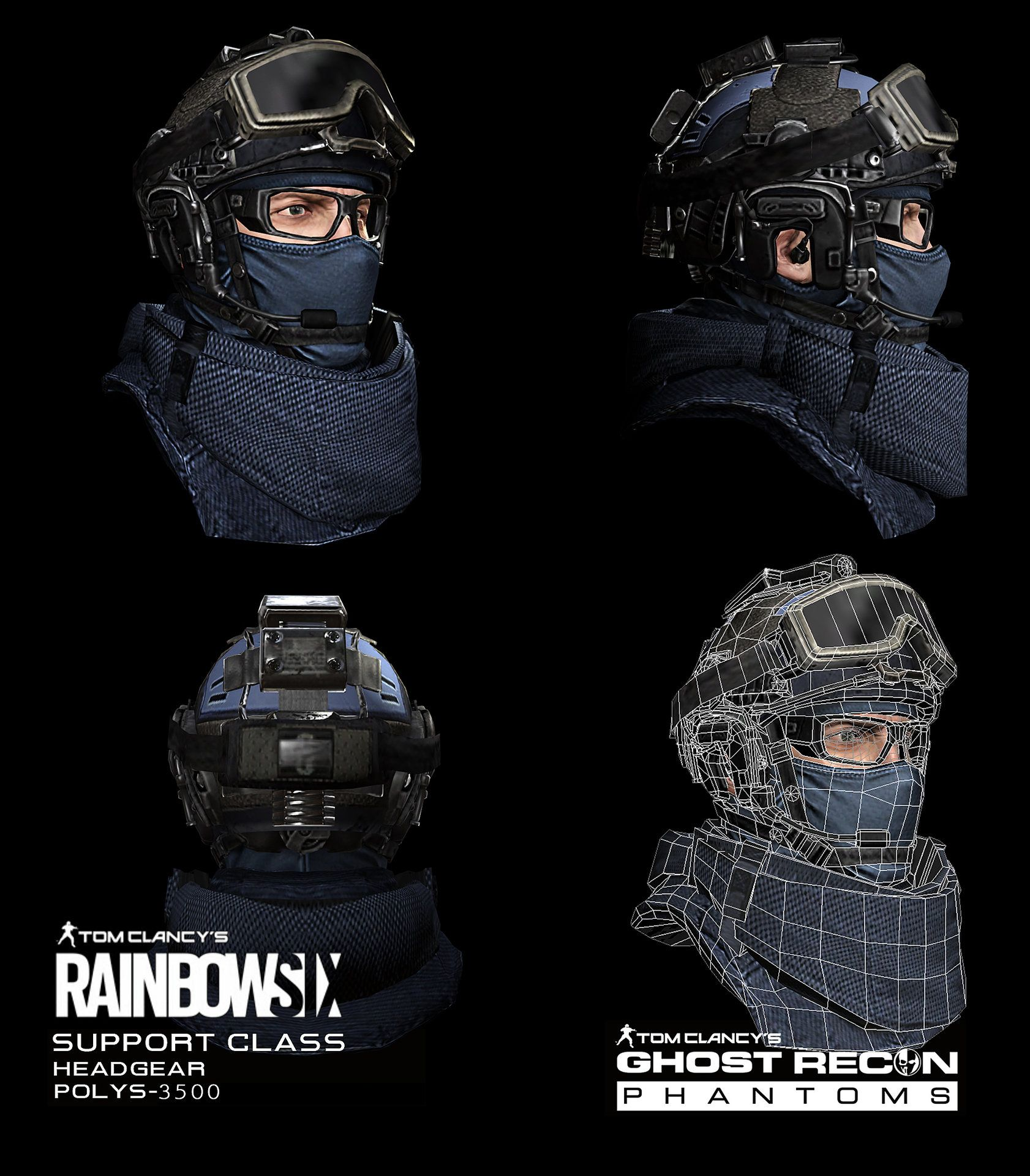 30 anni di Tom Clancy: Rainbow Six, Splinter Cell, Ghost ... |Ghost Recon Rainbow Six
