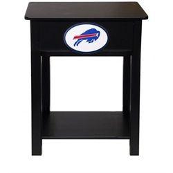 Buffalo Bills Black Nightstand Side Table Furniture