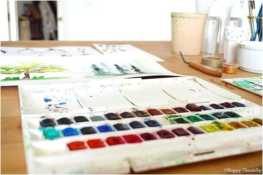 Aquarelle Quel Materiel Pour Debuter En 2020 Peinture Aquarelle
