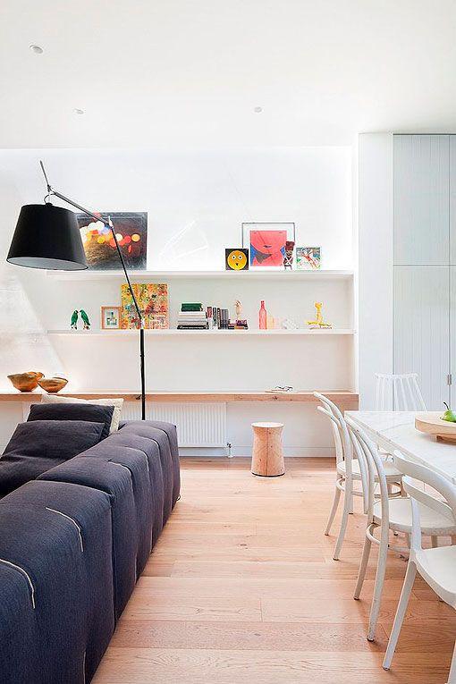 Cómo distribuir un salón-comedor con cocina integrada | minidepa ...