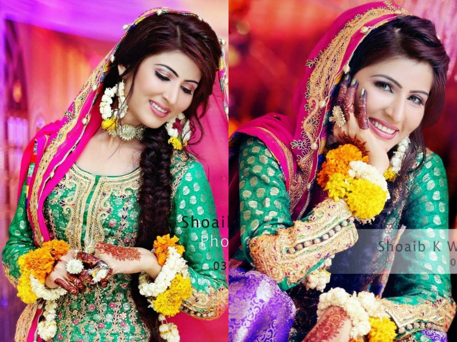 Mehndi Bridal Photoshoot : Photography by shoaib k blend of beauty and nature mehndi