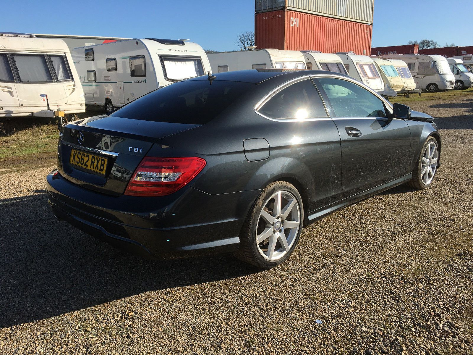 Ebay 2013 Mercedes Benz C220 Amg Automatic Diesel Sport C204 Coupe