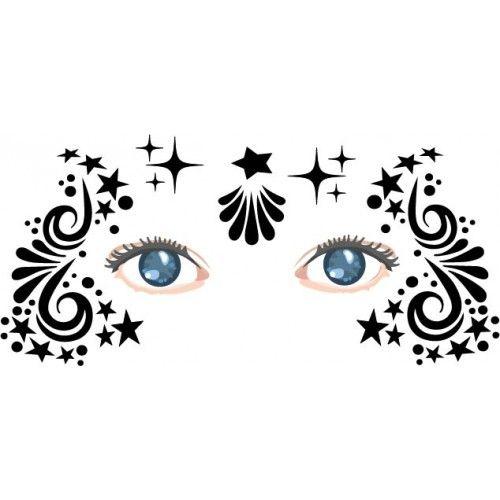 face painting stencils free printable - Google zoeken dc makeup
