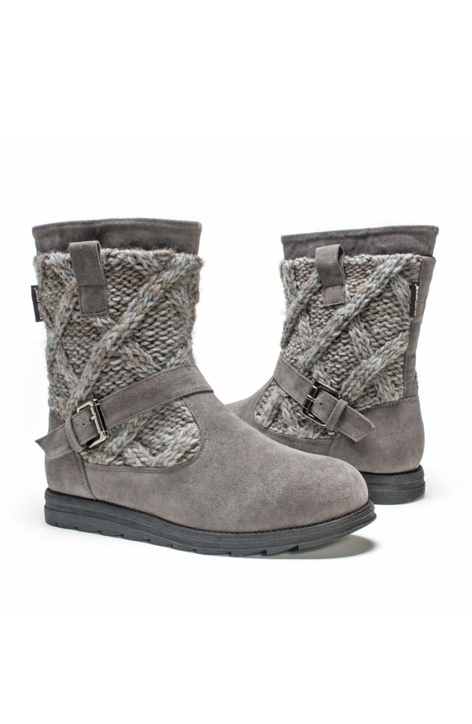 a43cb0d5389 muk luks - Gina Boots in Medium Gray | Shoe's, flats and high heels ...