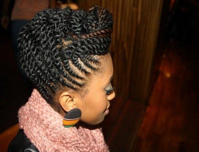 Hair Braiding Styles 2013 For Black Women Natural Hair Updo Natural Hair Styles Black Ponytail Hairstyles