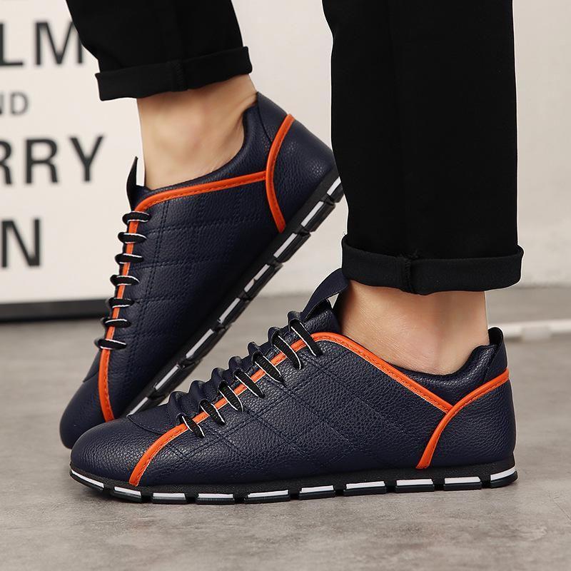 31667d34eef4 Designer Men Casual Driving Shoes Lace Up Sneakers Trainers Summer Men  Flats Plus Size 38-