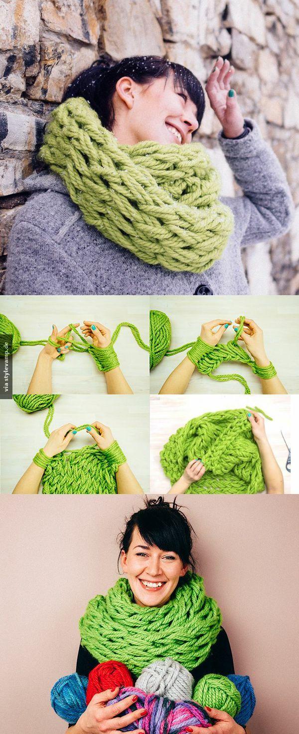 Dein eigener toller Schal, den niemand sonst hat! :)