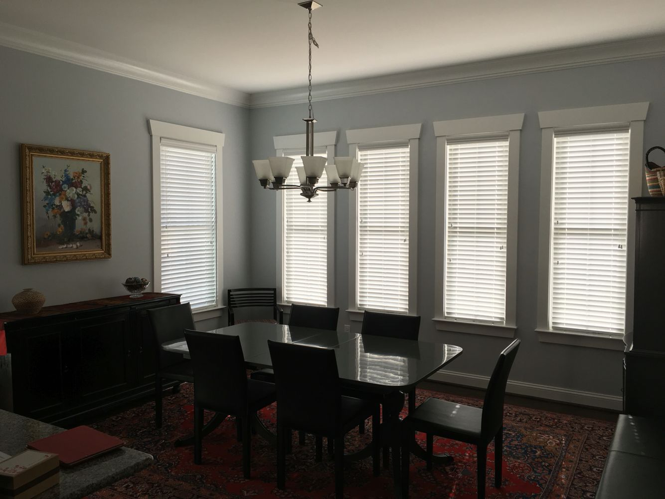 Faux Wood Blinds Formal Dining Room Faux Wood Blinds Blinds