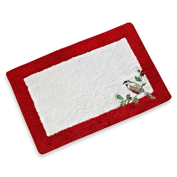Lenox 174 Winter Song Bath Rug Bed Bath Amp Beyond Create