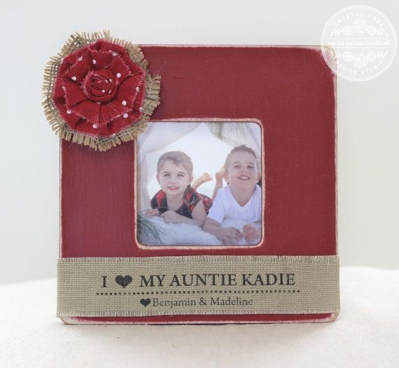 Christmas Gifts For Nephew And Niece: Aunt Christmas Gift Personalized Picture Frame Aunt Auntie