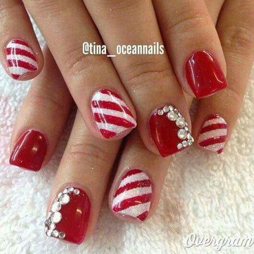 Diy christmas nail art 50 christmas nail designs you can do diy christmas nail art 50 christmas nail designs you can do yourself christmas nail designs best nail art and christmas nail art prinsesfo Images