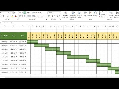 Diagrama De Gantt Excel Related Keywords Suggestions \u2013 Zooz1 Plantillas