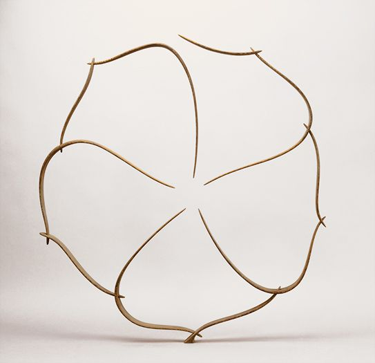 "Will Clift sculpture, ""Circular Form in Ten Pieces"""
