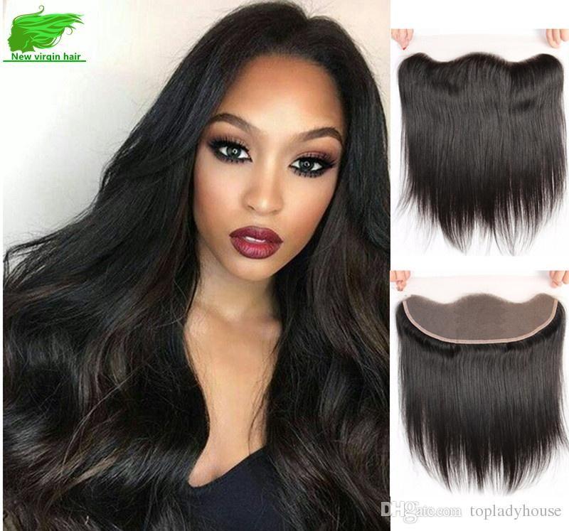 Brazilian Human Hair Straight Lace Frontal Closure Human Hair Lace