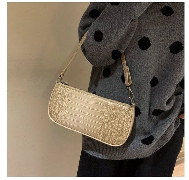 Alligator Bag Retro PU Leather Women Shoulder Bag Mini Crocodile Bags Purse Handbags Bolsas Color Style A black,  #Alligator #Bag #Bags #Black #bolsas #Color #Crocodile #Handbags #Leather #mini #Purse #Pursesandhandbagsforteensstyle #Retro #Shoulder #Style #women