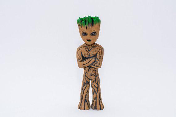 I Am Groot Baby Groot Groot Wooden Baby Groot Little Groot Guardians