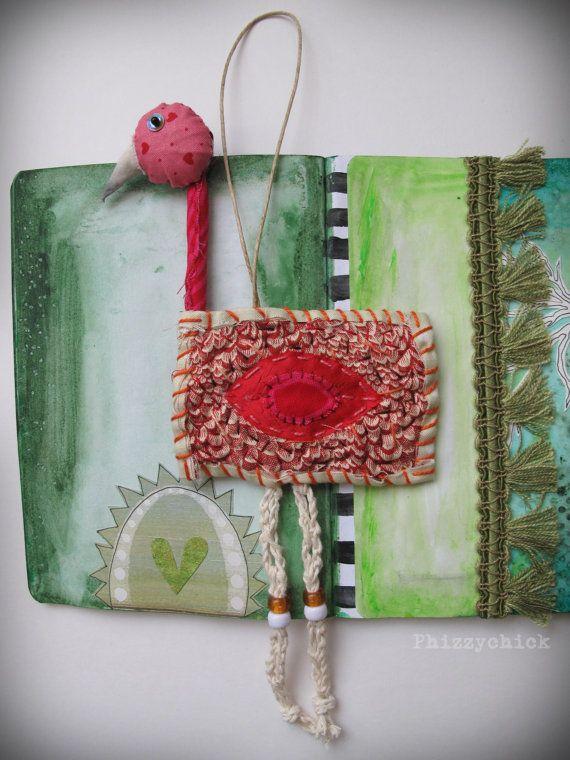 Scrappy Flamingo by Georgina Ferrans