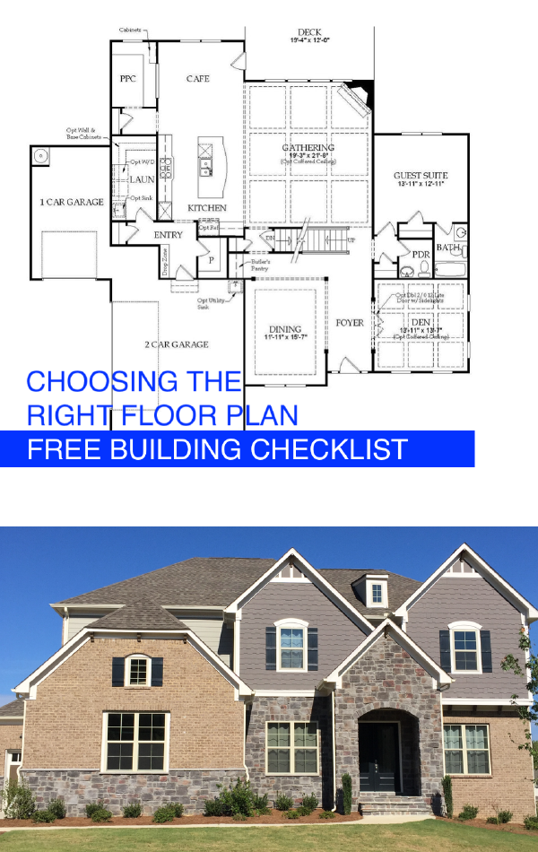 Home Building Checklist Choosing A Floor Plan Building A House Self Build Houses Home Design Floor Plans