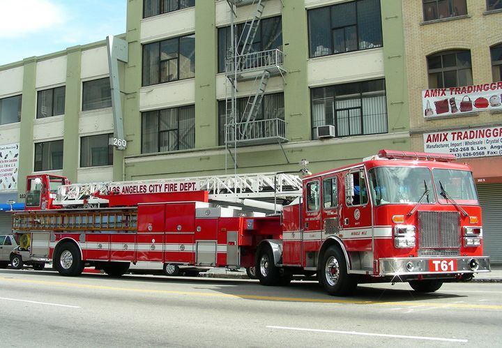 Fire Engines Photos Los Angeles Fire Department Truck 61 Fire Trucks Los Angeles Fire Department Fire Department