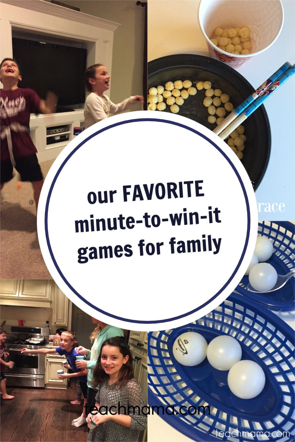 minute to win it games for kids and family teach mama in