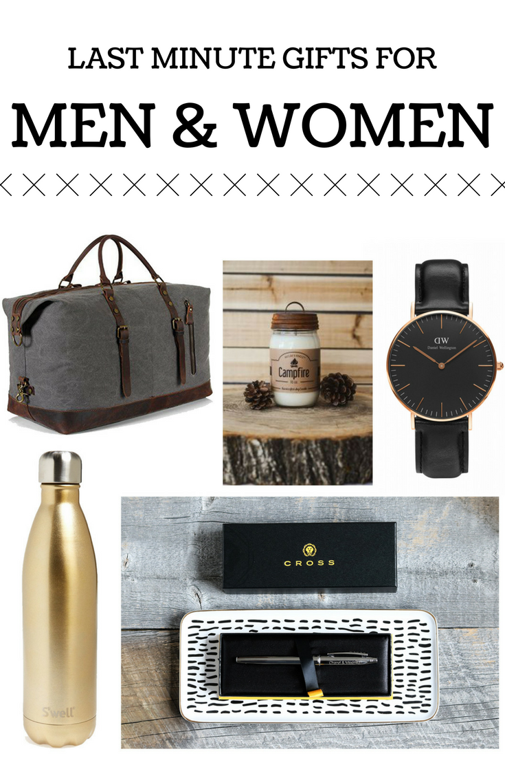 5 Last Minute Gifts for Men & Women | Gender neutral and Gift