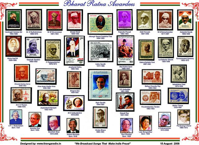 Bharat Ratna Awardees Indian flag, Hindu gods, Jainism
