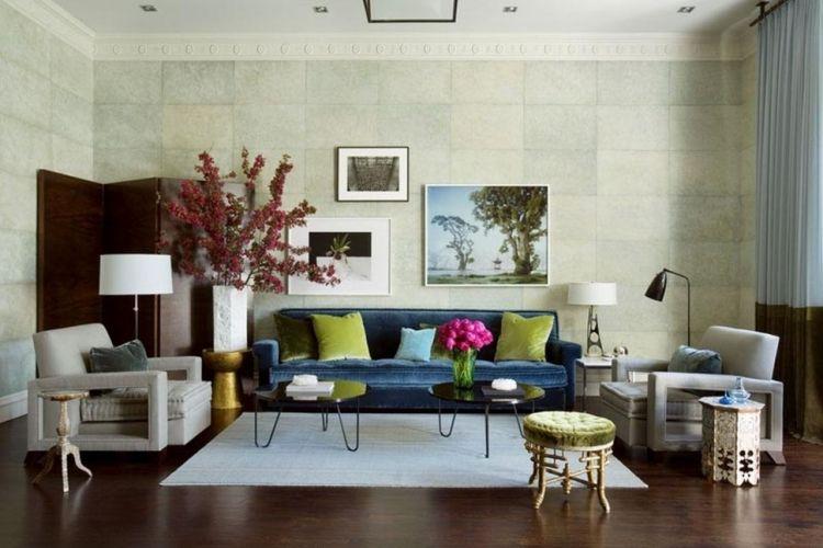 50 Einrichtungsideen für Wohnzimmer mit gemütlicher Deko Pinterest