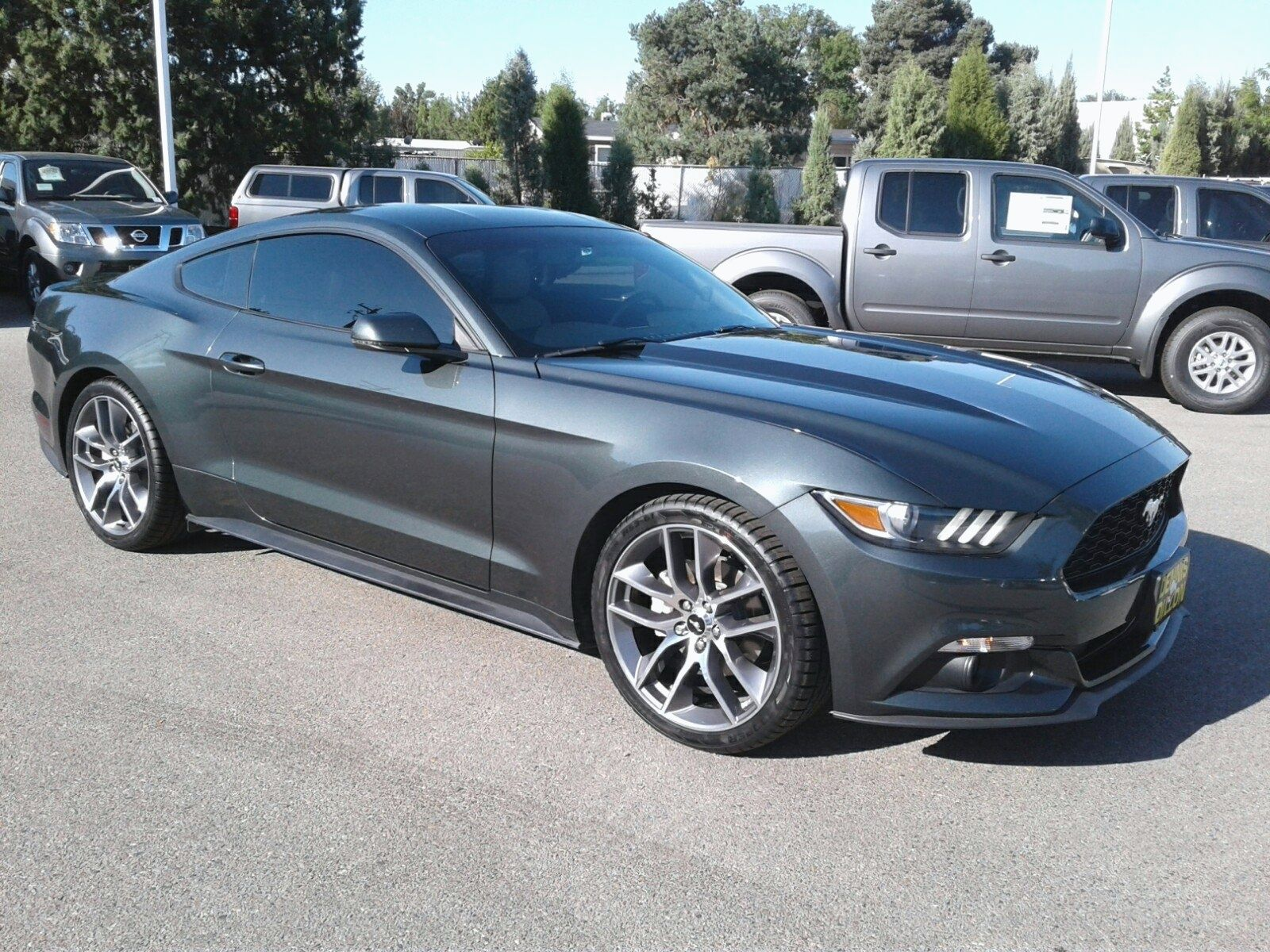 Pre Owned 2015 Ford Mustang Ecoboost Premium Rwd 2dr Car 2015 Ford Mustang Ecoboost Mustang Ecoboost 2015 Ford Mustang