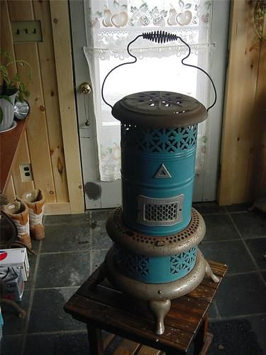 Vintage 1913 Perfection Kerosene Room Heater Stove 630 w ...